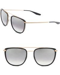 Barton Perreira - 56mm Lafayette Sunglasses - Lyst