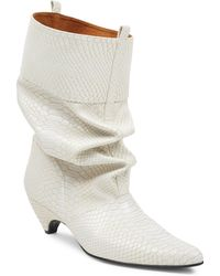 Stella McCartney | Slouchy Leather Boots | Lyst