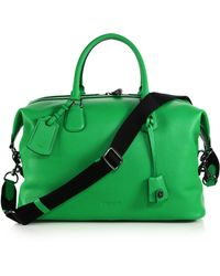 COACH - Explorer Leather Duffel Bag - Lyst