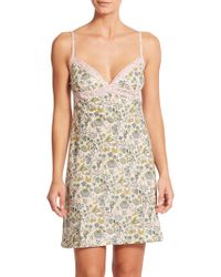 Liberty - Floral Chemise - Lyst