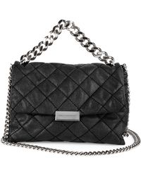 Stella McCartney - Becks Small Quilted Faux-leather Shoulder Bag - Lyst