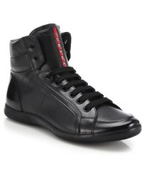 authentic prada purse - Prada Sneakers | Men's High Tops & Trainers | Lyst