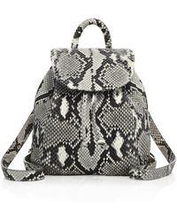 Mr. - Parker Python Backpack - Lyst