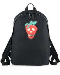 Paul Smith - Canvas Strawberry Skull Backpack - Lyst
