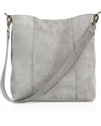 Aerin - Resort 17 Suede Hobo Bag - Lyst