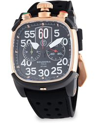 CT Scuderia - Scrambler Rose Gold Ip Stainless Steel & Perforated Silicon Strap Watch - Lyst