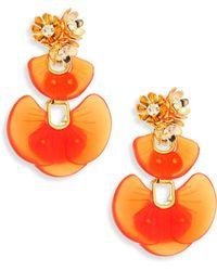 Lele Sadoughi | Island Shell Drop Earrings | Lyst