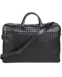 Bottega Veneta | Nero Leather Briefcase | Lyst