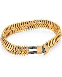 Miansai - Brass Klink Bracelet - Lyst