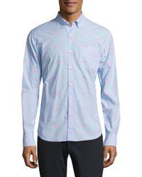 Bonobos - Slim-fit Shark-print Shirt - Lyst