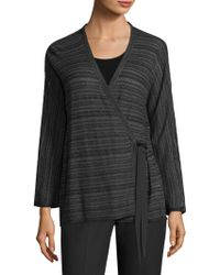 Eileen Fisher - Wrapped Cardigan - Lyst