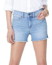 NYDJ - Cotton Denim Shorts - Lyst