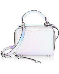 Rebecca Minkoff | Hologram Box Crossbody Bag | Lyst