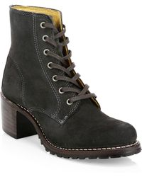 Frye - Sabrina 6g Lace-up Hiking Boots - Lyst
