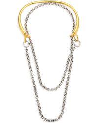 Charlotte Chesnais - Briska 18k Yellow Goldplated Necklace - Lyst