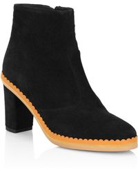 See By Chloé | Stasya Suede Booties | Lyst