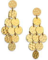 Stephanie Kantis - Shimmer Chandelier Earrings - Lyst