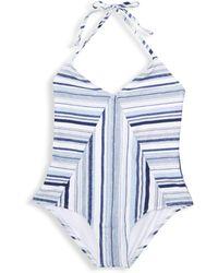 Splendid - Girl's Line Of Sight One-piece Swimsuit - Lyst