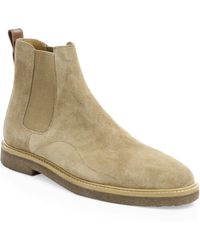 COACH - Suede Chelsea Boots - Lyst