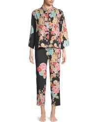 Natori - Saipan Mandarin Floral Pyjama Set - Lyst