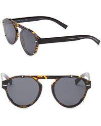 Dior - 62mm Black Tie Tortoise-shell Sunglasses - Lyst