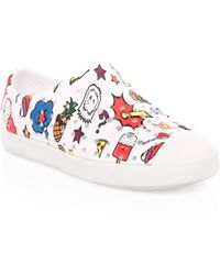 Native Shoes Kid's Jefferson Print Slip-on Trainers