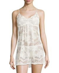 In Bloom - Lace Chemise - Lyst