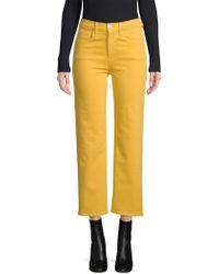 3x1 - Shelter Wide Leg Crop Jeans - Lyst