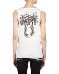 Palm Angels - Palms Capture Tank Top - Lyst