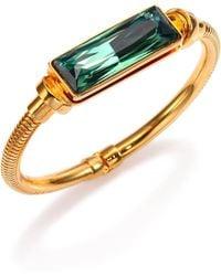 House of Lavande - Kemala Crystal Bangle Bracelet - Lyst