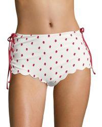 Marysia Swim - Palm Springs Tie Bikini Bottom - Lyst