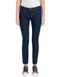 Dolce & Gabbana - Slim Mid-rise Jeans - Lyst