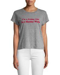 Wildfox - Friday Girl Tee - Lyst
