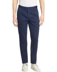 Madison Supply - Woven Slim-fit Trousers - Lyst