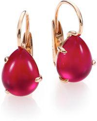 Pomellato - Rouge Passion Teardrop Earrings - Lyst