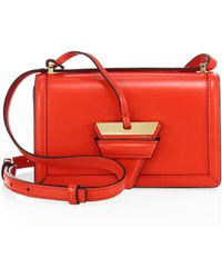 Loewe - Barcelona Small Leather Bag - Lyst