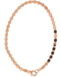 Lana Jewelry - 14k Rose Gold Nude Chain Bracelet - Lyst