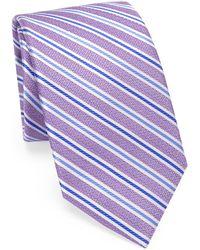 Saks Fifth Avenue - Multi Stripe Woven Tie - Lyst