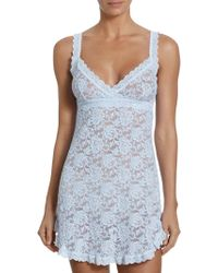 Hanky Panky - Floral Lace Chemise - Lyst