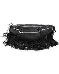 Alexander Wang | Attica Soft Fringed Leather Fanny Pack | Lyst