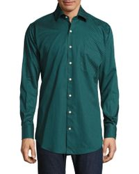 Peter Millar - Printed Button-down Shirt - Lyst