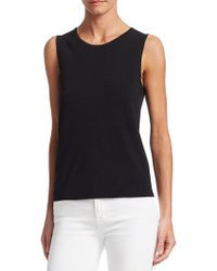 Saks Fifth Avenue - Collection Sleeveless Shell Top - Lyst