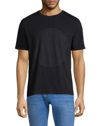 Theory - ??raphic Cotton Tee - Lyst