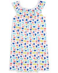 Roberta Roller Rabbit - Little Girl's & Girl's Neapolitan Archipelago Pac Fish Marina Cotton Dress - Lyst