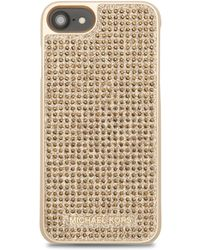 MICHAEL Michael Kors - Pave Crystal Iphone 7 Plus Case - Lyst