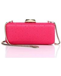 Saks Fifth Avenue - Long Rectangular Clutch - Lyst