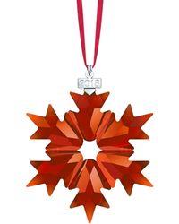 Swarovski - 2018 Magma Star Ornament - Lyst