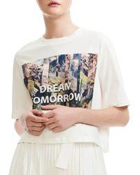 Maje - Dream Tomorrow Graphic Tee - Lyst