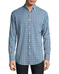 Peter Millar - Plaid Casual Button-down Shirt - Lyst