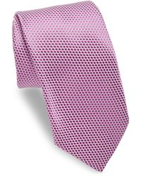 Ike Behar - Blue Polkadot Tie - Lyst